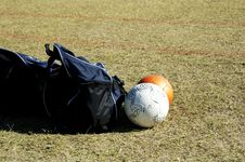 Soccer Gear. Royalty Free Stock Photography