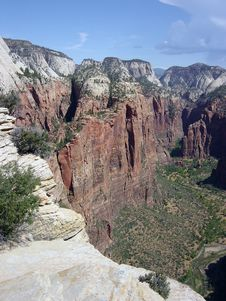Free Angels Landing Stock Images - 328274