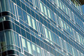 Free New Glass Windowed Bank Office Royalty Free Stock Images - 3200279
