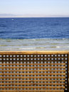 Free Wooden Beach Partition Stock Photo - 3204710