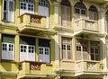 Free Balconies Stock Image - 3205431