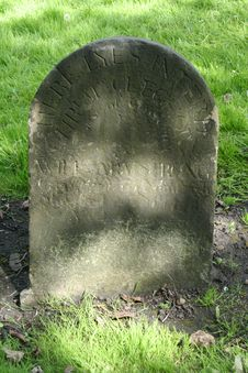 Free Antique Headstone Stock Image - 3201231