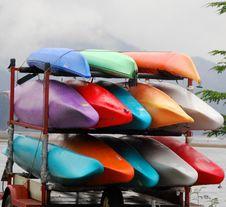 Free Kayaks Stock Image - 3201251