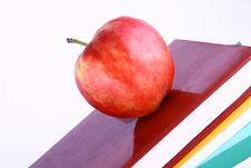 Free Books And Apple Royalty Free Stock Photo - 3201315