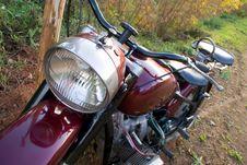 Free Retro Motorcycle Stock Photo - 3202120