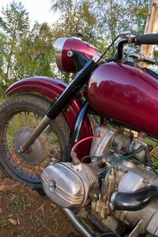 Retro Motorcycle Stock Images