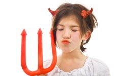 Free Devil S Kiss Royalty Free Stock Photos - 3202888