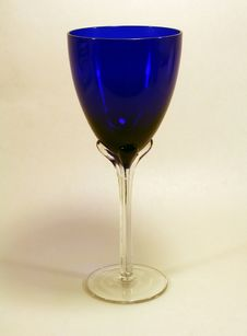 Free Blue Chalice W/ Clipping Path Stock Photography - 3203102
