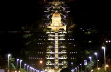 Free Haifa Mosque And Garden Stock Photos - 3204893