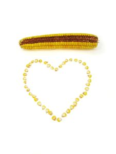 Free Corn Heart Royalty Free Stock Photography - 3205227