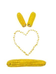 Free Corn Heart Stock Photos - 3205523