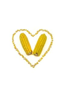 Free Corn Heart Royalty Free Stock Photo - 3205525