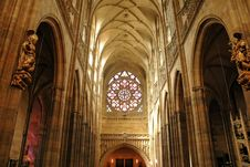 Free Interior Of Cathedral Stock Photography - 3205612