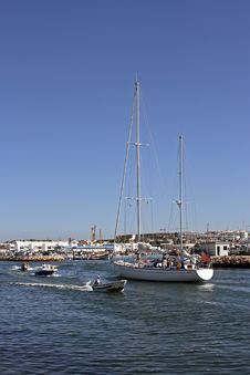 Free Sailingyacht In Lagos Harbor Stock Photo - 3205840