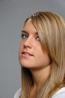 Free Portrait Of Teen Girl Stock Photo - 3205940