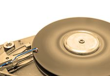 Free Hard Disk Drive In Sepia Stock Photo - 3206140