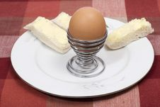 Free Egg & Soldiers Royalty Free Stock Photography - 3206217