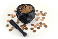 Free Grinding For Pennies Stock Photography - 3206392
