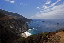 Big Sur Coast Stock Images