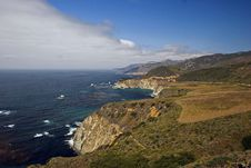 Big Sur Coast Royalty Free Stock Photography