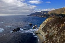 Big Sur Coast Stock Photos
