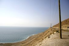 Free View Of The Dead Sea Royalty Free Stock Image - 3206906