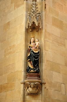 Free Blessed Virgin Mary Royalty Free Stock Photography - 3206907