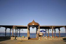 Free Restaurant On The Beach Stock Photos - 3206913