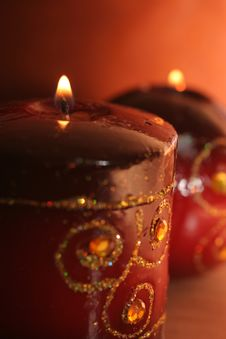 Free Candle Royalty Free Stock Image - 3207076