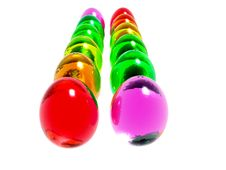 Free Bright Easter Eggs Royalty Free Stock Image - 3207416