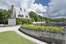 Free Part Of Chateau Chenonceau Royalty Free Stock Image - 3209356