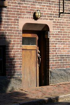Free Basement Door Royalty Free Stock Image - 3209956