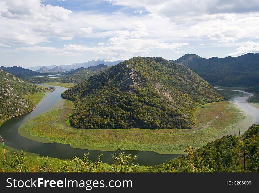 The Scadar Lake