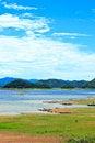 Free Views Over The Reservoir Kaengkrachan Dam Royalty Free Stock Image - 32002336