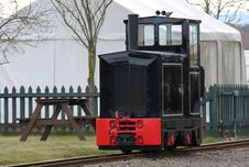 Free Narrow Gauge Railway. Royalty Free Stock Photography - 32004157