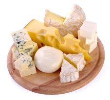 Free Set Of Cheese Royalty Free Stock Images - 32005089