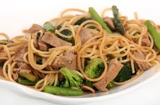 Free Porc Stir-fry Royalty Free Stock Photos - 32005948