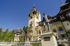 Free Peles Castle Stock Photography - 32011092