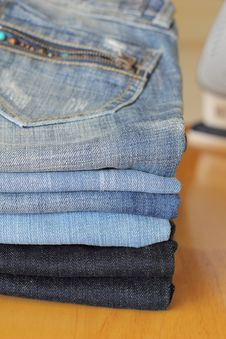 Free Jeans Stock Images - 32016754