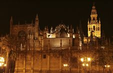 Free Cathedral In Seville Royalty Free Stock Photos - 32020518