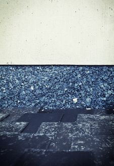 Free Abstract Background Of The Concrete And Gravel Stock Photo - 32026360