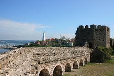 Free Genoese Castle Stock Photography - 32028022