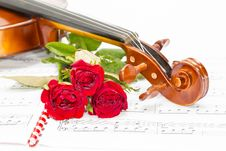 Free Violin Royalty Free Stock Images - 32029079