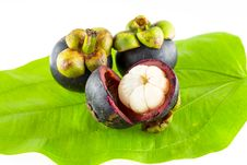 Free Mangosteen Royalty Free Stock Photography - 32029197