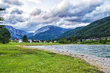 Free Freizeitsee Zenz Austria Stock Photography - 32034072