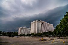 Charlotte City Skyline Stock Photography