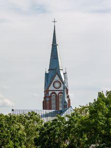 Akmene St. Ann S Church Royalty Free Stock Images