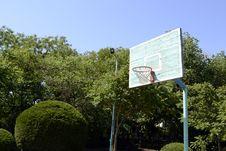 Free Basketball Hoop Royalty Free Stock Image - 32035736
