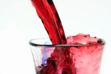 Free Pouring Red Wine Royalty Free Stock Image - 32039786