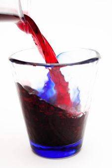 Free Spill Red Wine Royalty Free Stock Photos - 32039788